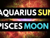 aquarius sun pisces moon personality