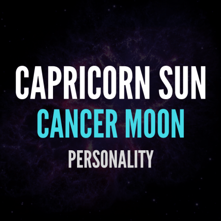 Capricorn Sun Cancer Moon Personality