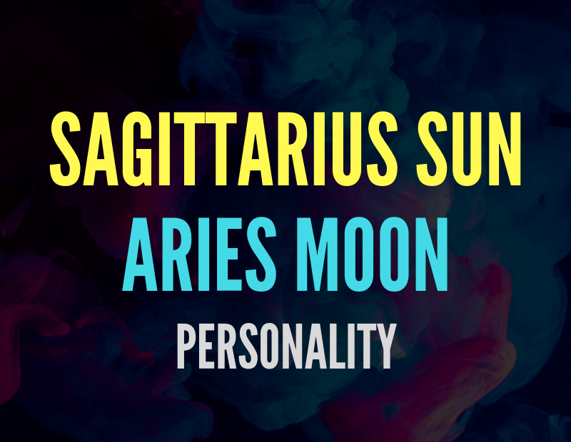 sun in sagittarius moon in aries