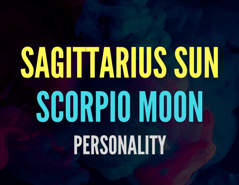 sun in sagittarius moon in scorpio