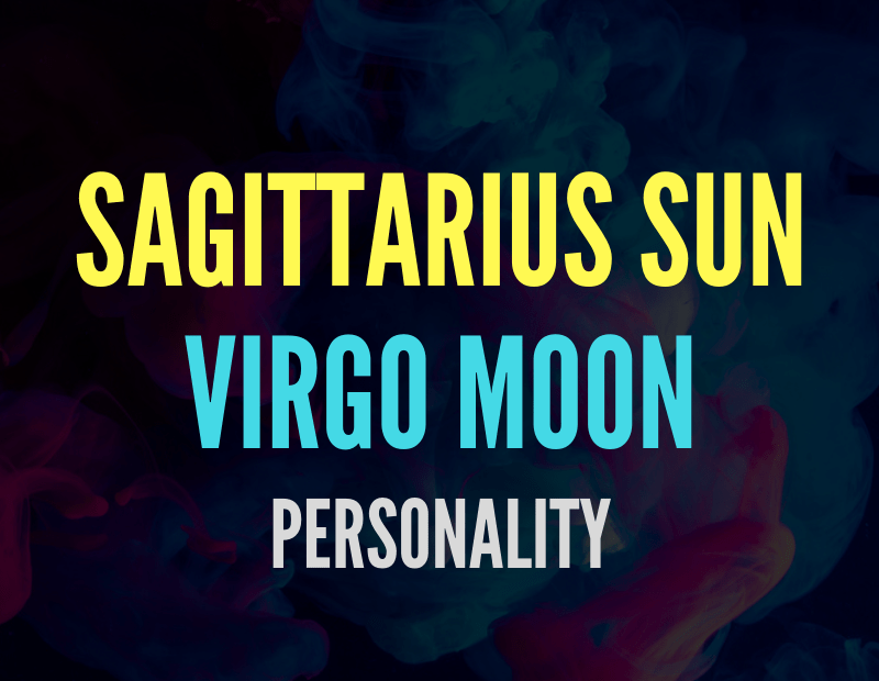 sun in sagittarius moon in virgo