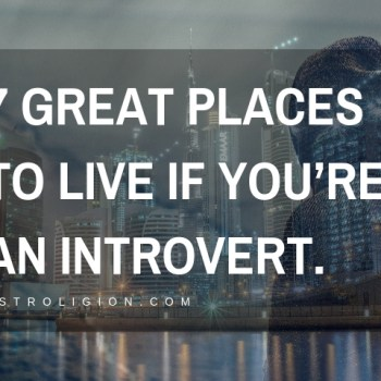 7 Great Places to Live for introverts