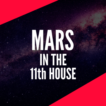 Mars in the 11th House – Leader of the Pack