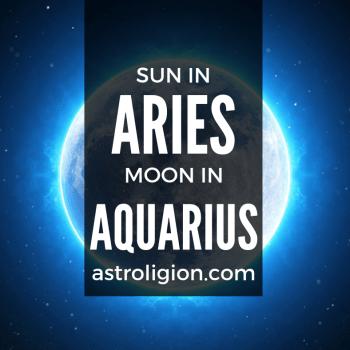 sun in aries moon in aquarius