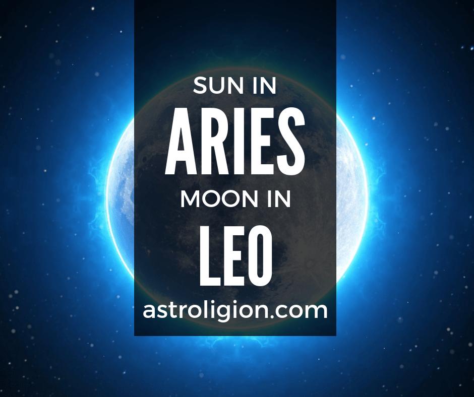 Aries Sun Leo Moon Personality