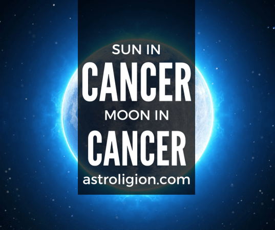 Cancer Sun Cancer Moon Personality