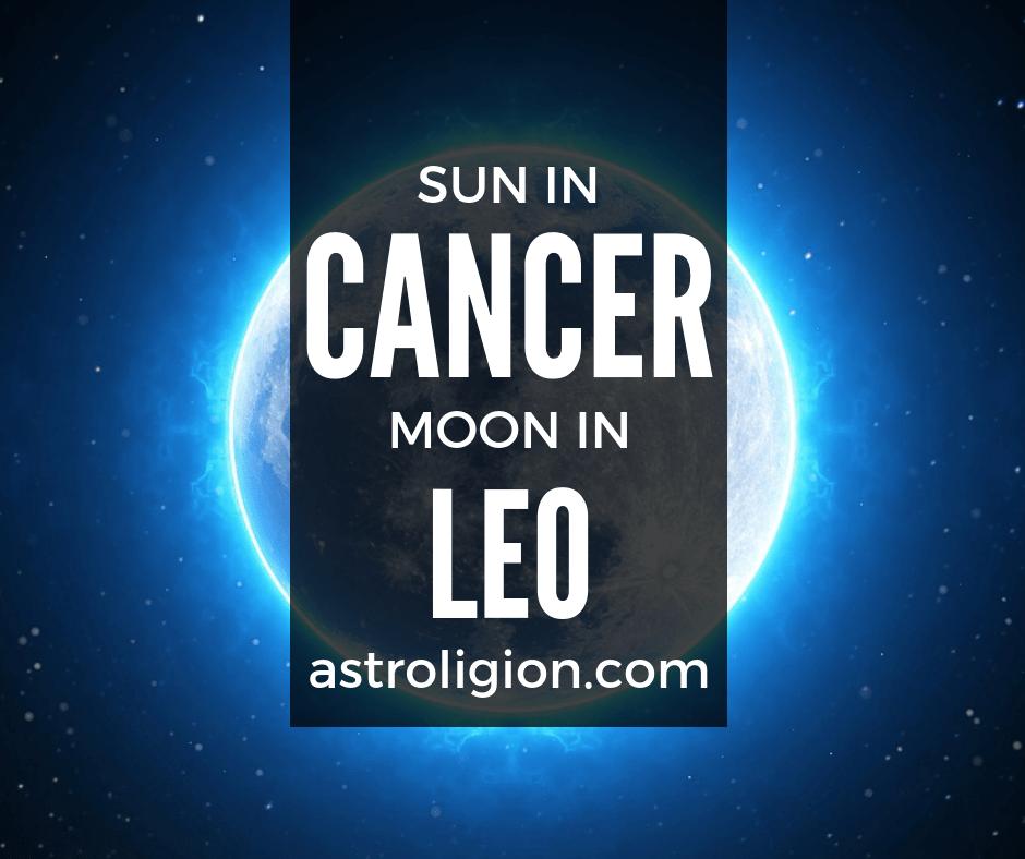 Cancer Sun Leo Moon Personality | astroligion com