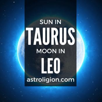 sun in taurus moon in leo