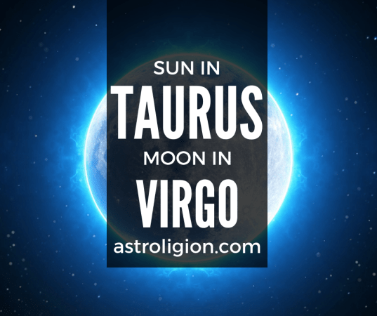 Taurus Sun Virgo Moon Personality