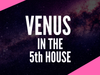 venus in the 5th house