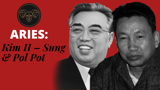 kim il sung and pol pot aries