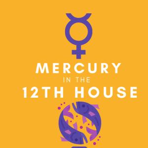mercury in 12th house pinterest