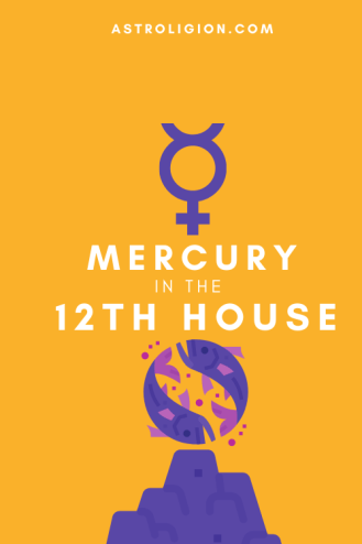 mercury in 12th house pinterest