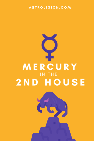 mercury in 2nd house pinterest