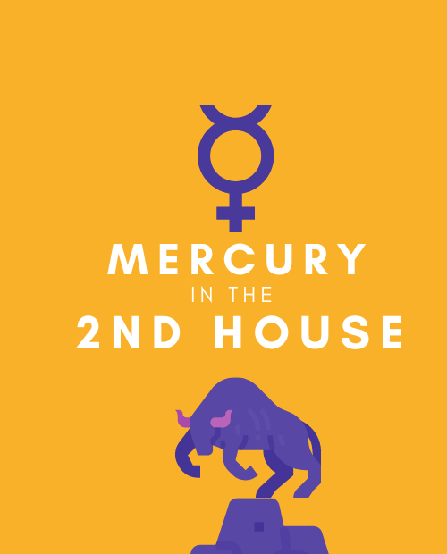 mercury in 2nd house pinterest