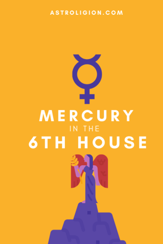 mercury in 6th house pinterest
