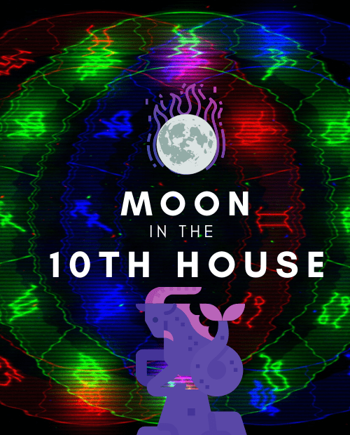 moon in 10th house pinterest