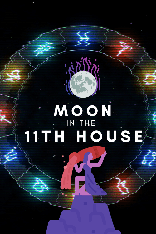 Moon in the 11th House – Feeling a Need To Belong