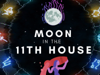 moon in 11th house pinterest