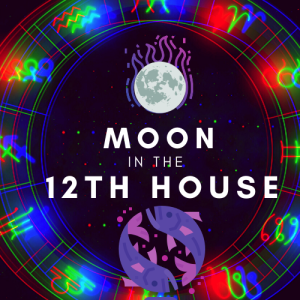moon in 12th house pinterest
