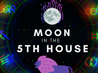 moon in 5th house pinterest