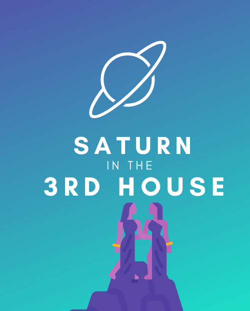 saturn in the 3rd house pinterest