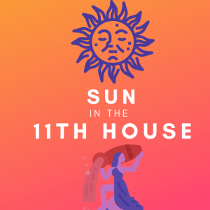 sun in the 11th house pinterest