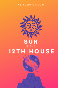 sun in the 12th house pinterest