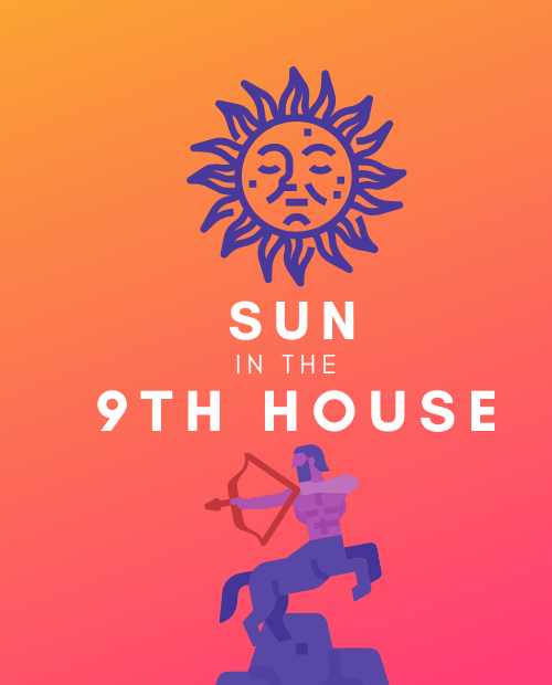 sun in the 9th house pinterest