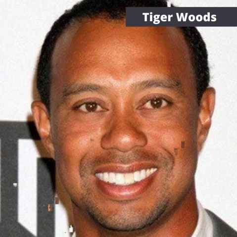 tiger woods eyes