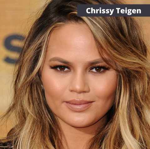 chrissy teigen eyes