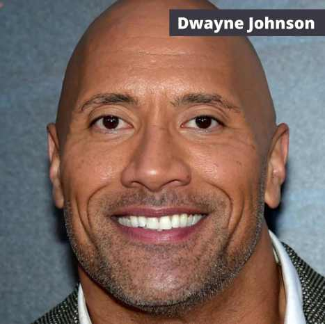 dwayne johnson eyes