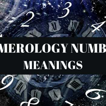 NUMEROLOGY NUMBER MEANINGS