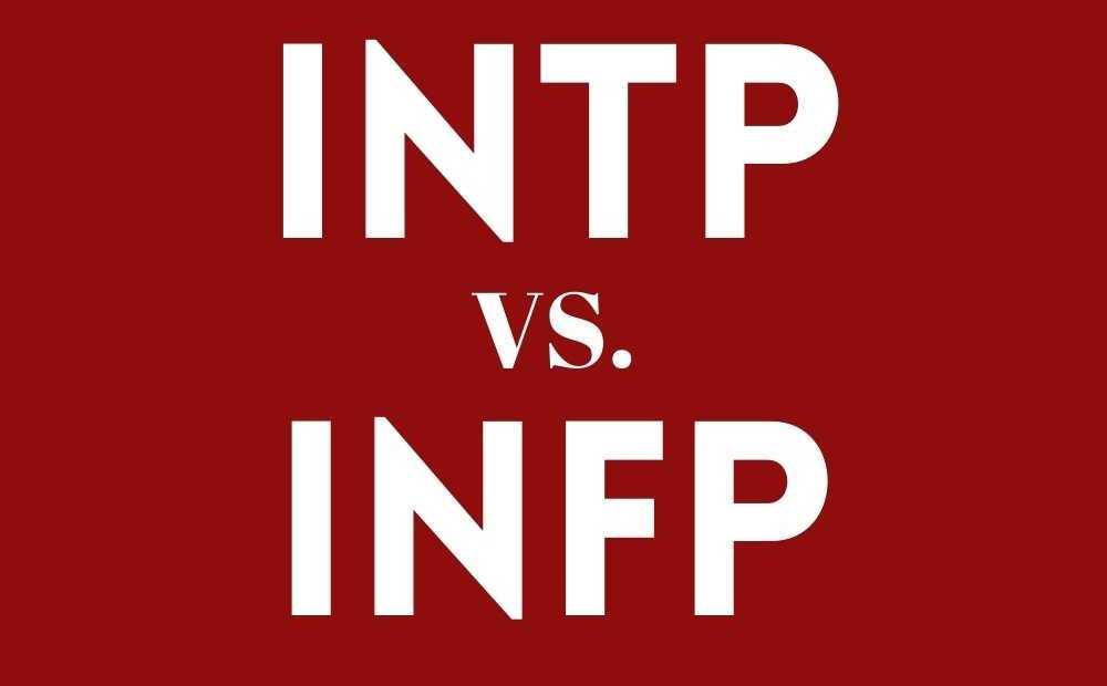 INTP VS INFP MBTI