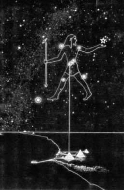 Resultado de imagen de las piramides y cinturon de orion