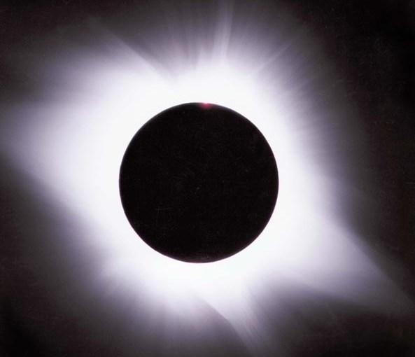 3 ნოემბერი – მზის დაბნელება