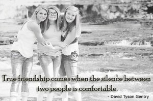 friendship-quotes-thoughts-David-Tyson-Gentry-silence-comfortable-true-friendship