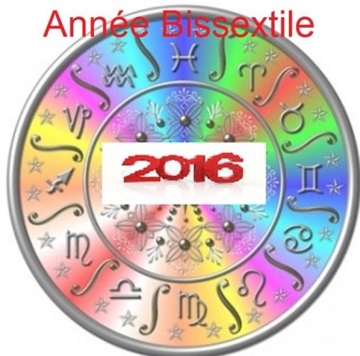 2016 Année Bissextile