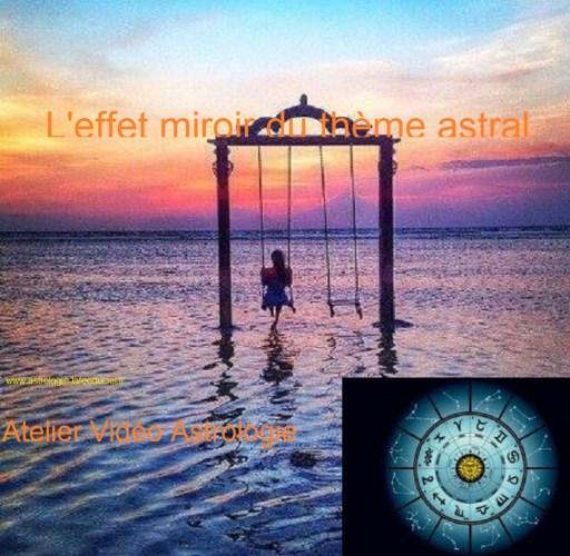 L'effet Miroir du thème astral - Atelier Vidéo d'Astrologie