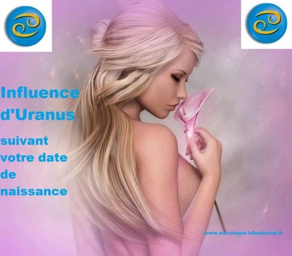 Cancer : Influence d'Uranus suivant votre date de naissance