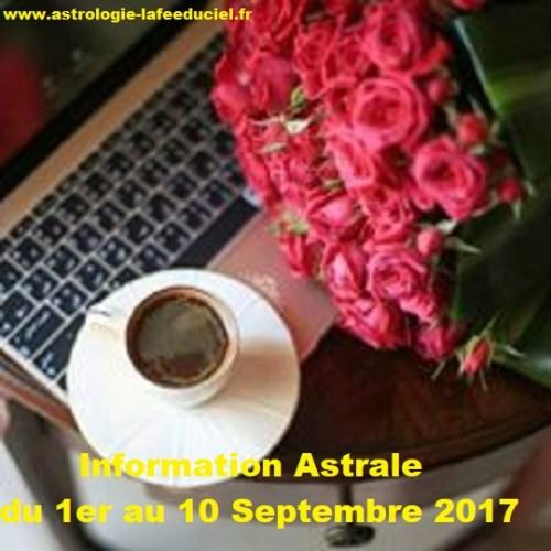 Mémo A noter dans votre agenda du 1er au 10 Septembre 2017 ( en mode écriture )