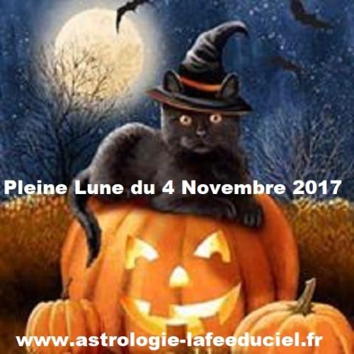 Pleine Lune du 4 Novembre 2017 - en mode écriture-