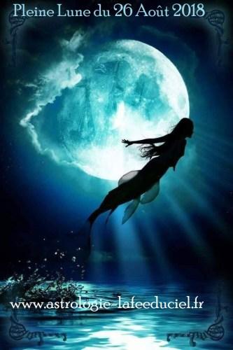 Pleine Lune du 26 Août 2018
