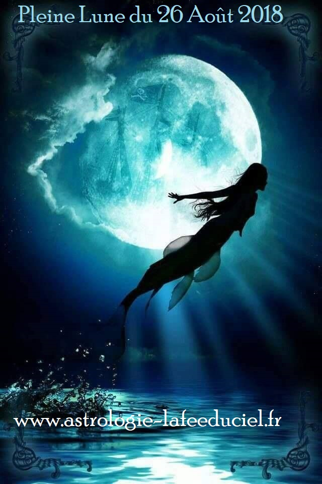 pleine lune aout