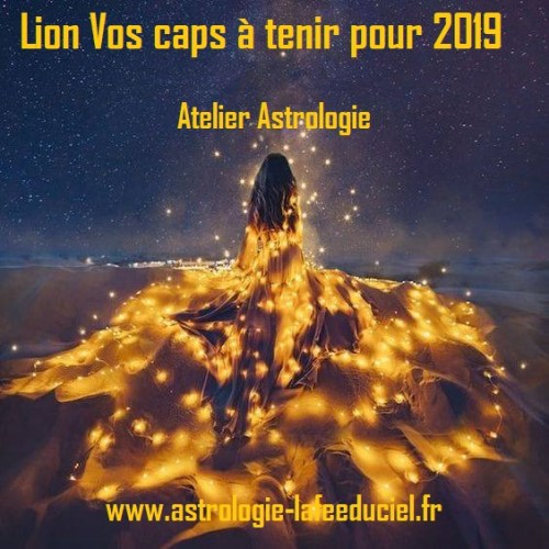 Atelier Lion  Vos caps à tenir pour 2019