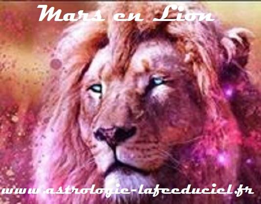 Mars en Lion