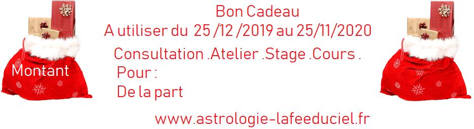 Noël 2019 Bon Cadeau