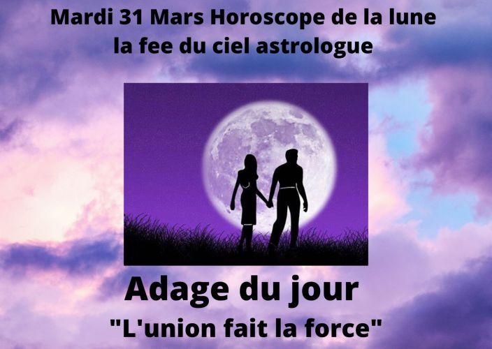 Horoscope de la Lune du 31 Mars 2020