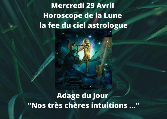Horoscope de la Lune du 29 Avril 2020