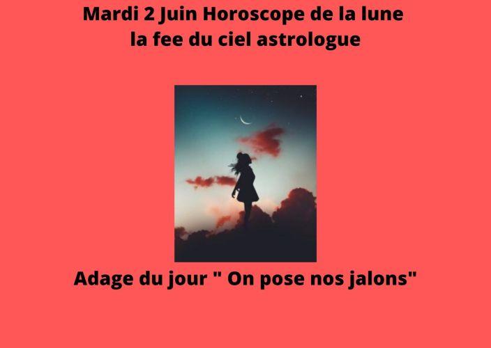Horoscope de la Lune du 2 Juin 2020